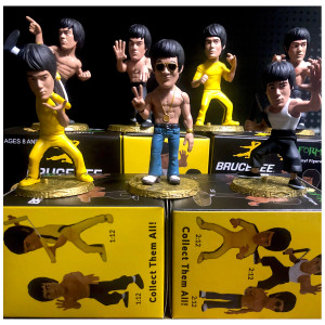 Bruce Lee D-Formz Figures - 12 piece