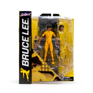 Bruce Lee Select Yellow Jumpsuit Action Figure