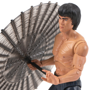 Bruce Lee Shirtless Action Figure