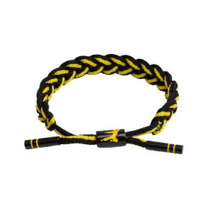 Infinite Optimism Rastaclat Bracelet - Black