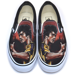 Warrior DGK Vans Classic Slip-On