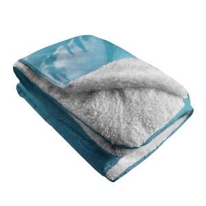 Be Water, My Friend Sherpa Fleece Blanket