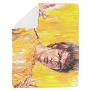 "ARTIST SERIES: ""Trick Jumpsuit"" Sherpa Fleece Blanket"