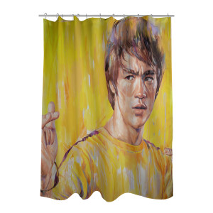 "ARTIST SERIES: ""Trick Jumpsuit"" Shower Curtain"