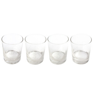 Stages of Cultivation 13.5oz Etched Glass Set of 4