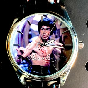 Bruce Lee Scratches Pioneer Watch