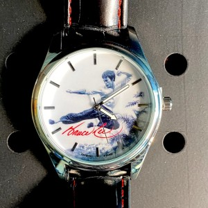 Bruce Lee Flying Man Pioneer Watch