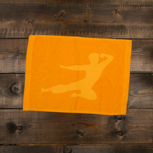 Flying Man Small Fitness Towel