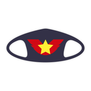 Wing Star Face Mask