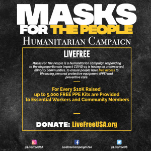 Live Free: Masks for the People $50 Donation