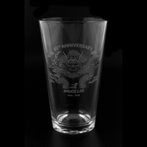 80th Anniversary 16oz Etched Glass