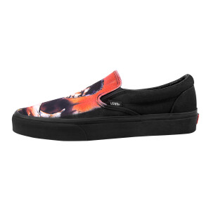Warrior DGK Black Mono Vans Classic Slip-On