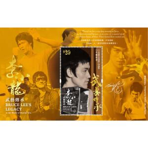 BL Legacy HK Post $20 Hot Foil Stamp Sheetlet