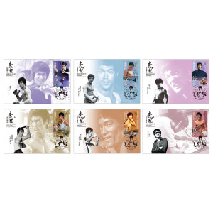 BL Legacy HK Post Maximum Cards Set of 6