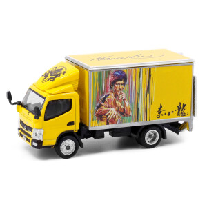 Mitsubishi Fuso Canter Bruce Lee 1/76 Diecast