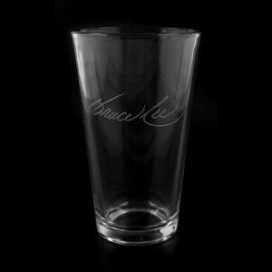 BL Signature 16oz Etched Glass