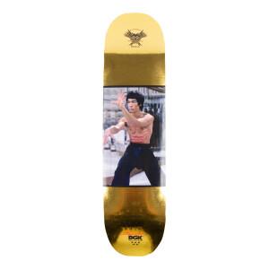 80th Gold Hands Skate Deck