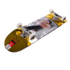 80th Gold Hands Skateboard