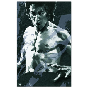 Bruce Lee in Action by Sugahara - LTD Edition of 50 - Signed by Shannon Lee