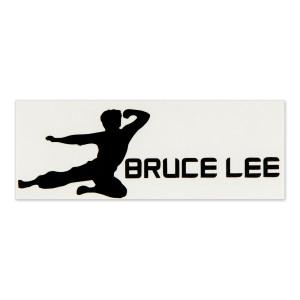 Bruce Lee Horizantal Flying Man Sticker