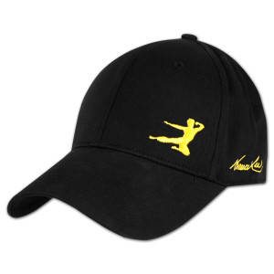 Bruce Lee Flying Man Signature Cap - Yellow