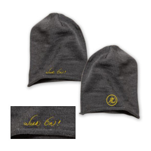 Bruce Lee Walk On Beanie - Yellow