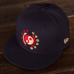 Bruce Lee Core Symbol Navy New Era 59Fifty Fitted Cap