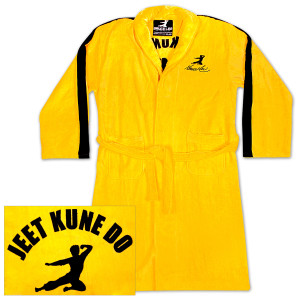 Bruce Lee Yellow Jumpsuit Robe