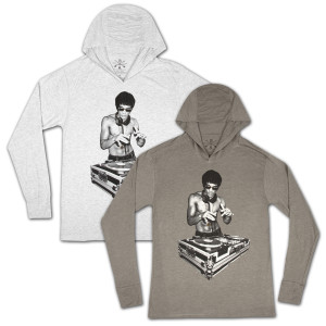 Bruce Lee Gung Fu Scratch Hoodie by Bow & Arrow