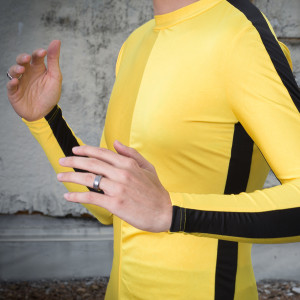 Bruce Lee Yellow Jumpsuit Costume