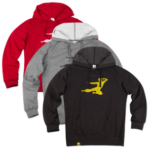 Bruce Lee Women's Flying Man Hoodie