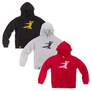 Bruce Lee Youth Flying Man Hoodie - LIMITED SIZES
