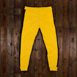 Bruce Lee Yellow/Black Men's Sweatpants