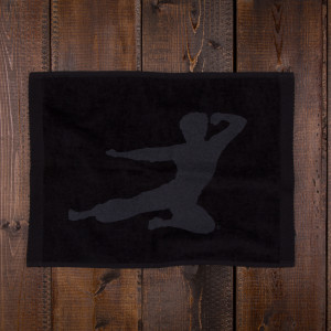 Flying Man Large Fitness Towel