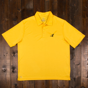Bruce Lee Flying Man Polo - Yellow
