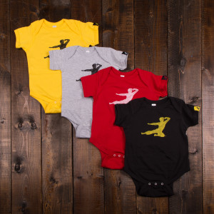 Bruce Lee Flying Man Onesie