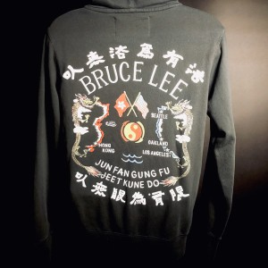 Bruce Lee JFGF Dragon Full-Zip Hoodie