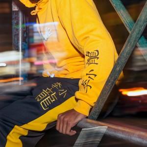Fierce DGK Pullover Hoodie - Gold