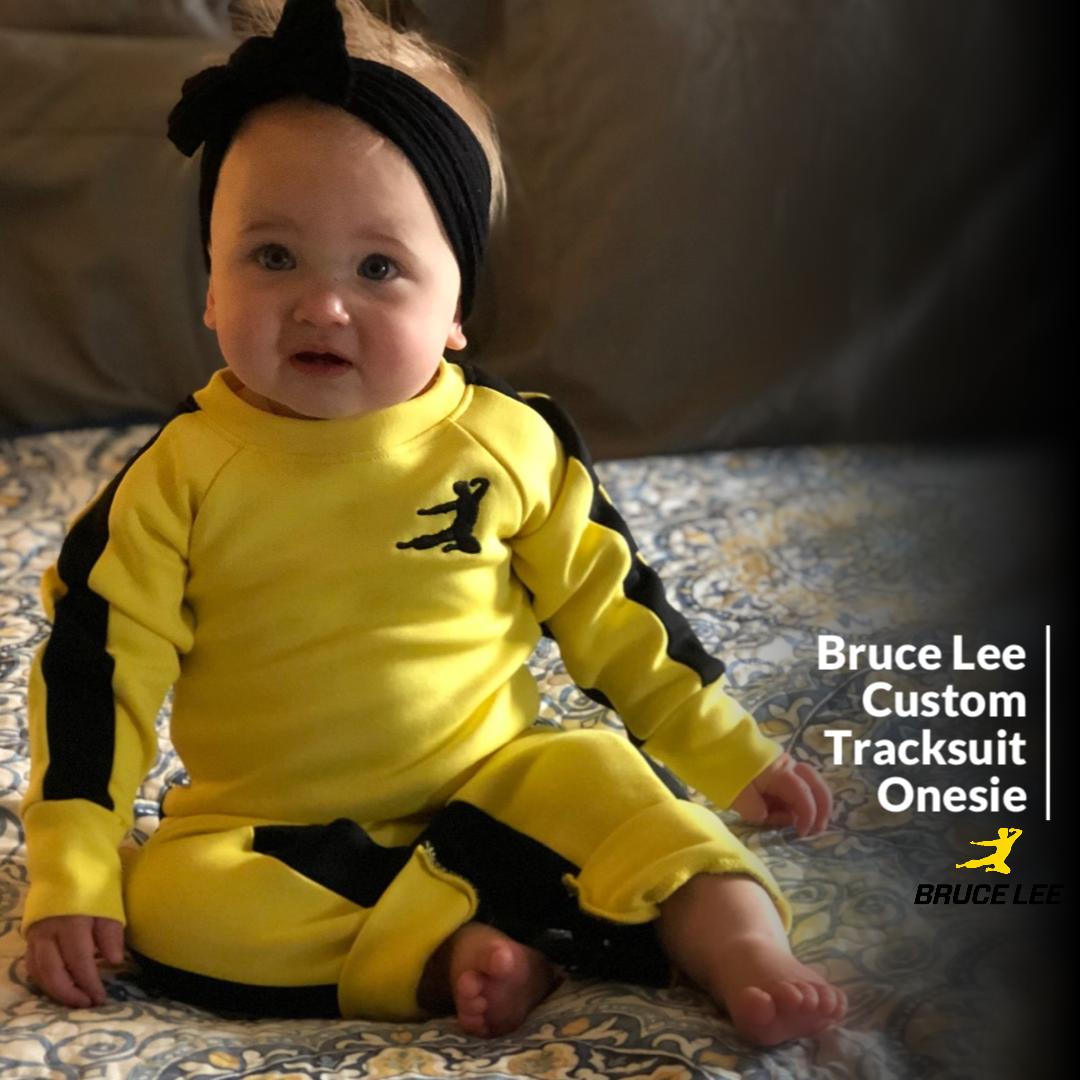 Bruce Lee Tracksuit Onesie