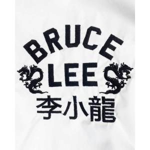 Bruce Lee Script Stadium Jacket