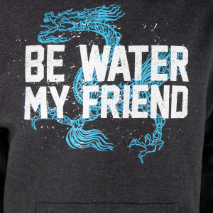 Be Water Dragon Pullover Hoodie