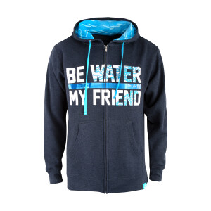 Be Water Dragon Full-Zip Hoodie