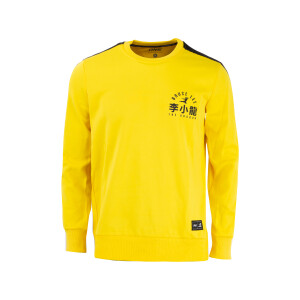 Bruce Lee Black & Yellow Pullover