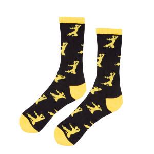 Flying Man Athletic Crew Socks