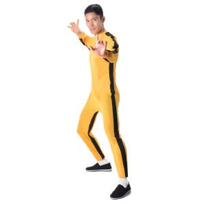Bruce Lee Yellow Jumpsuit Adult Costume