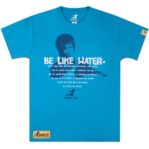 Bruce Lee Apparel | Bruce Lee Be Like Water T-shirt | Shop the Bruce Lee Official Store