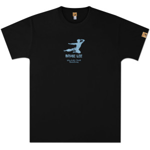 Bruce Lee Kick Logo T-shirt