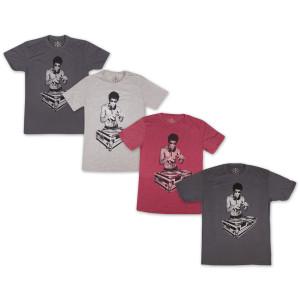 Bruce Lee 50/50 DJ T-shirt by Bow & Arrow