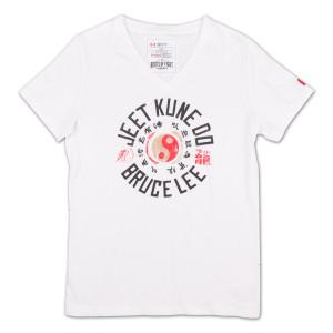 Bruce Lee JKD Ladies V-Neck Tee by Under Armour