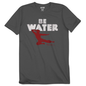 Bruce Lee Be Water T-Shirt
